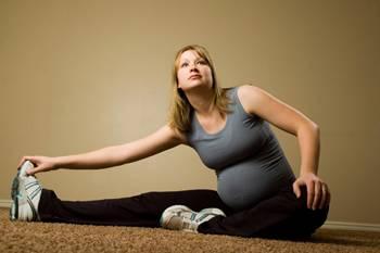 Упражнения для родов очень полезны