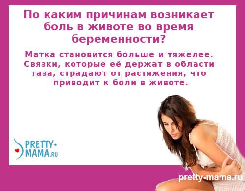 боль в животе во время беременности
