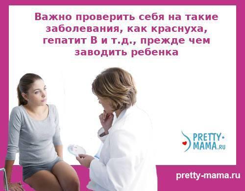 обследование до беременности