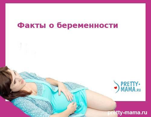 Факты при беременности