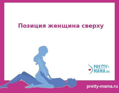 позиция женщина сверху